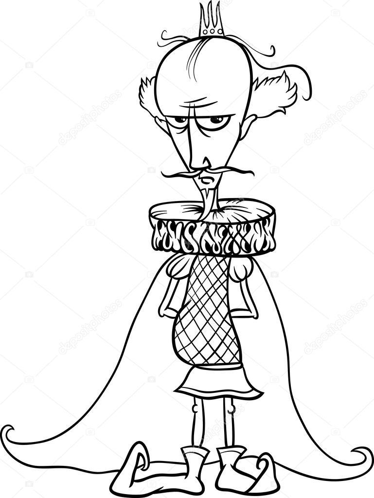 dibujos para colorear libro del rey — Vector de stock © izakowski ...