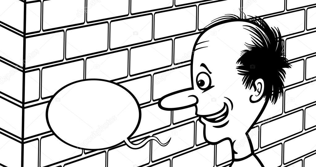 Imágenes Hablar En Caricatura Hablando Con Una Caricatura