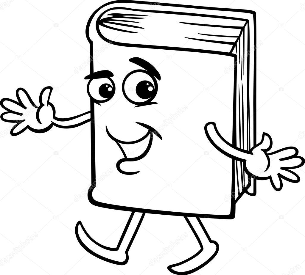 boek kleurplaat stockvector 169 izakowski 42433099