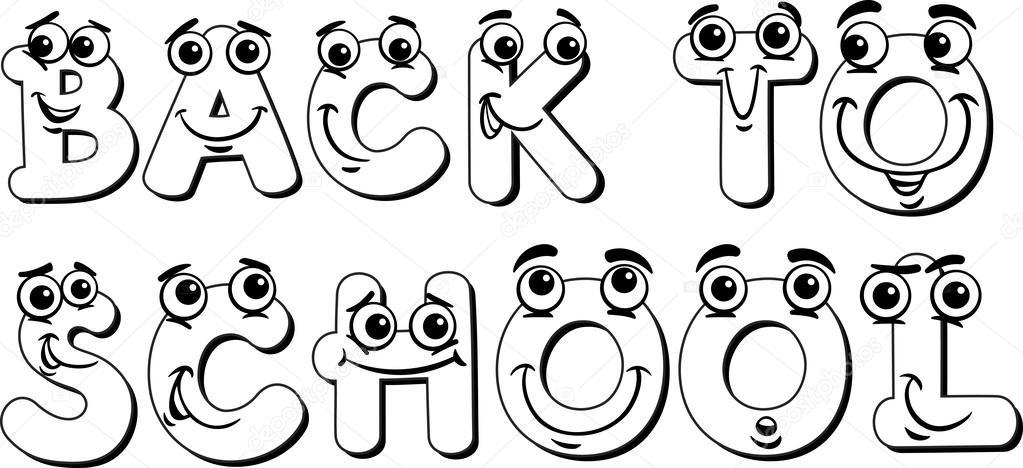 Imágenes: welcome to school para colorear | a signo escuela página ...