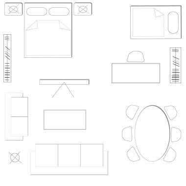 Blocks of furniture