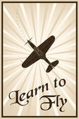 fliegen lernen