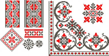 Romanian traditional patterns