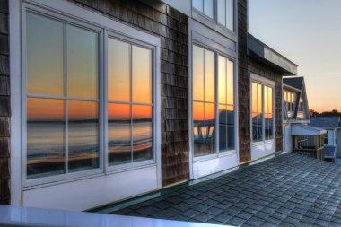 Sunrise reflection 20