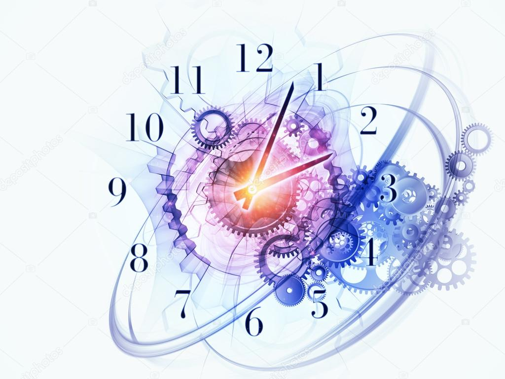 Abstract Clock Background Stock Photo Image By Agsandrew 12689029