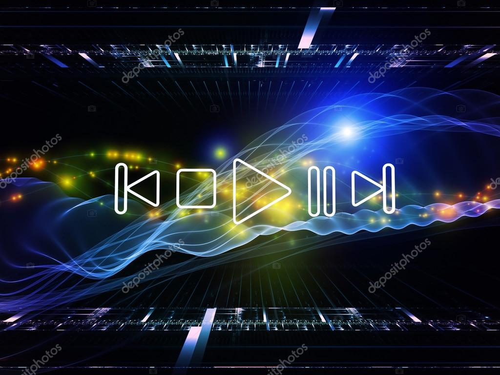 Fluctuations of sound energy — Stock Photo © agsandrew #12690012