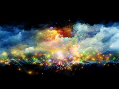 Abstract clouds and lights