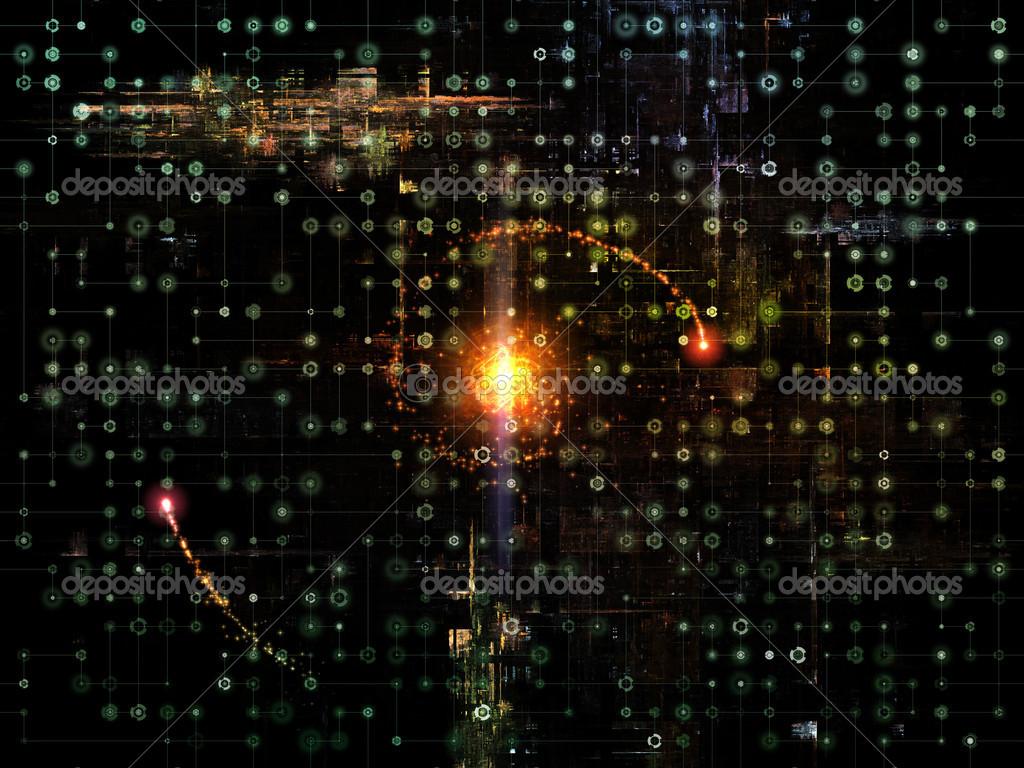 Network Visualization — Stock Photo © agsandrew #17446343