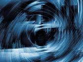 konceptuální digitální dynamický