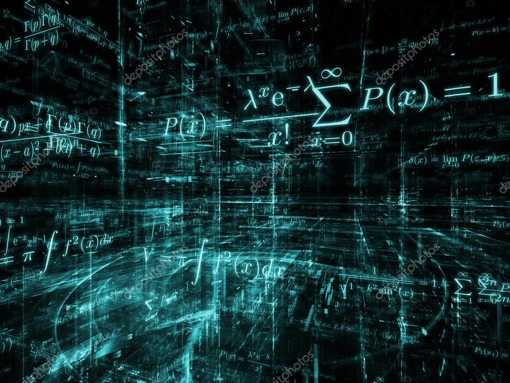 abstracción de las matemáticas — Foto de stock © agsandrew