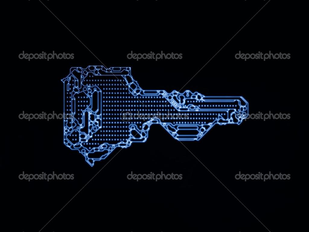 Virtualization of Key Code — Stock Photo © agsandrew #32270857