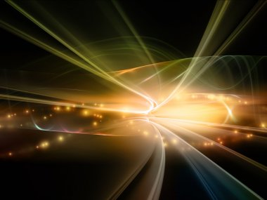 Lights of Fractal Realms