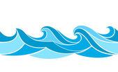Fényképek Varrat nélküli mintát stilizált hullámok