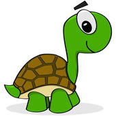 Photo Cartoon turtle