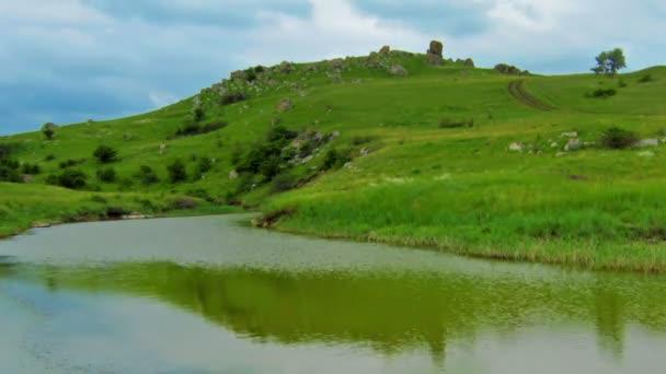 nyári-tó táj