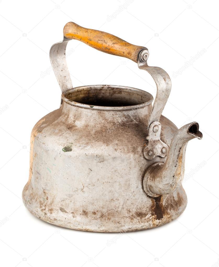 Aluminium Wasserkocher — Stockfoto © mbongo #42536667