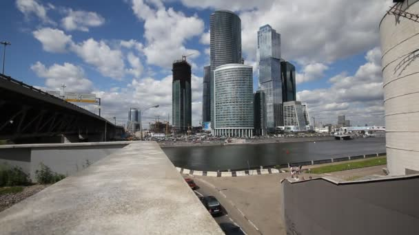 Skyscrapers of Moscow City TimeLapse