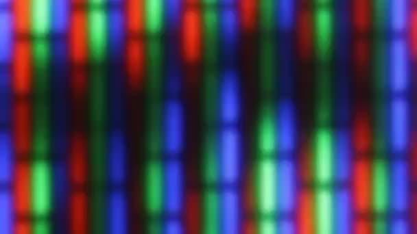 A Tv-képernyőn csillogó háttér