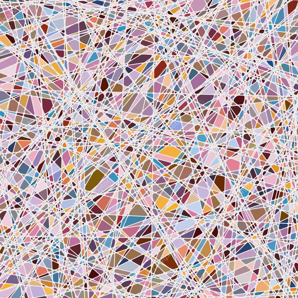 texture vitrail sur un ton violet. EPS 8 — Image vectorielle beholdereye © #26398779