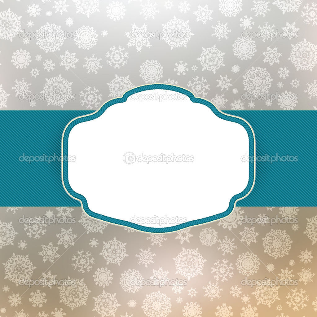 diseño de marco de plantillas para tarjetas de Navidad. EPS 8 ...