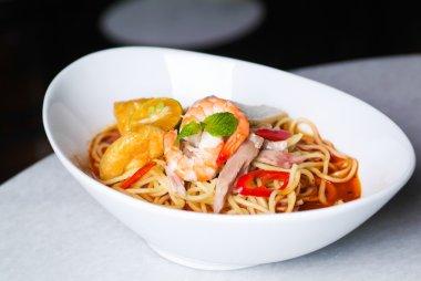 Prawn noodle - Malaysian food