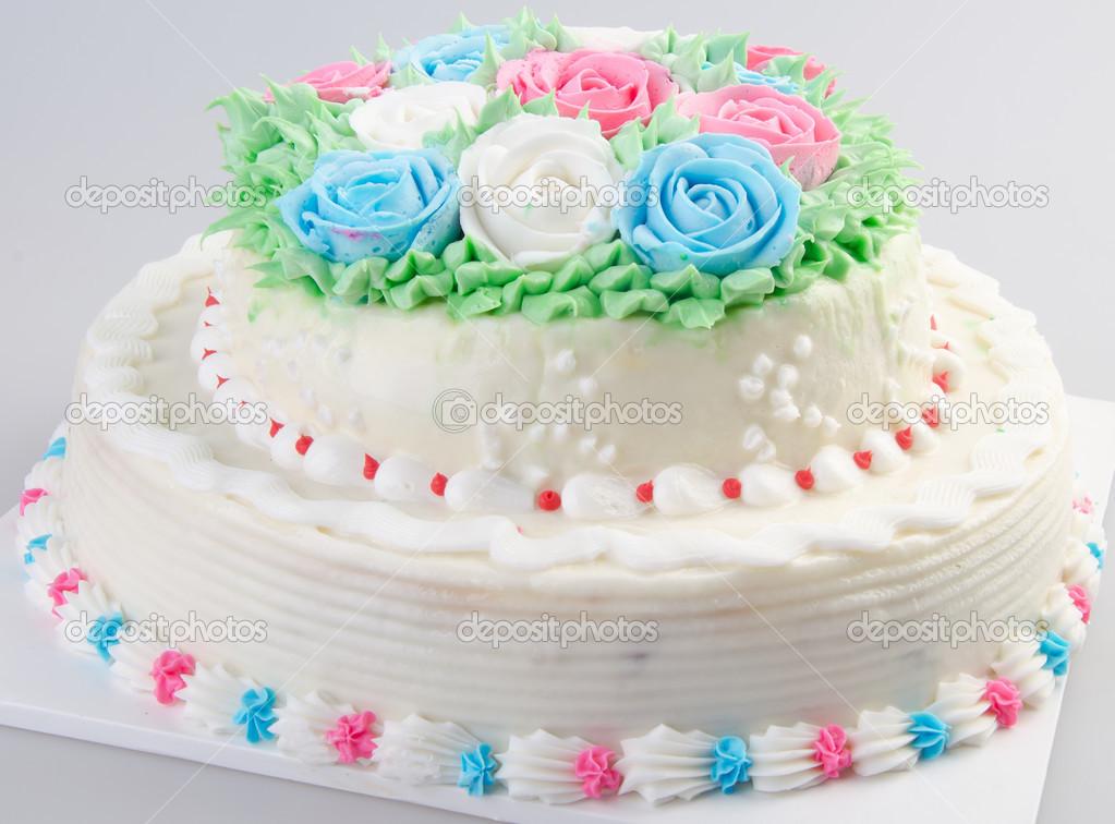 Kuchen Eis Kuchen Auf Hintergrund Stockfoto C Heinteh 40176509