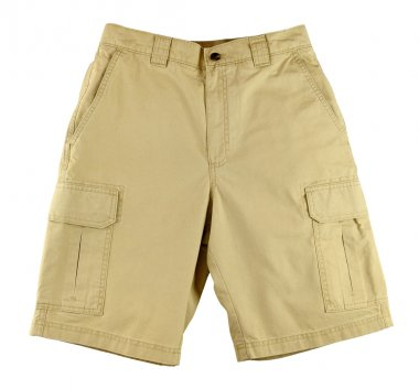 Men's shorts isolated on white background