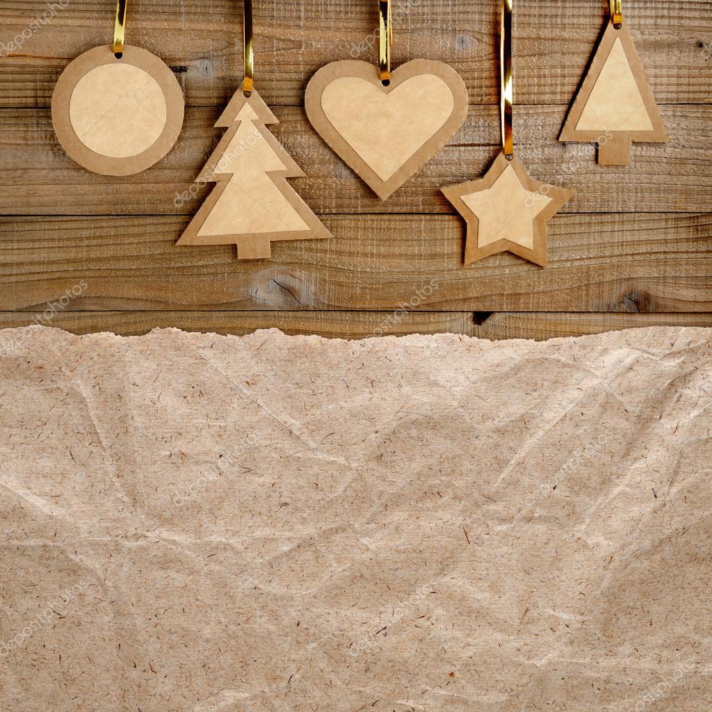 vintage weihnachten hintergrund auf holz stockfoto windujedi 33172749. Black Bedroom Furniture Sets. Home Design Ideas