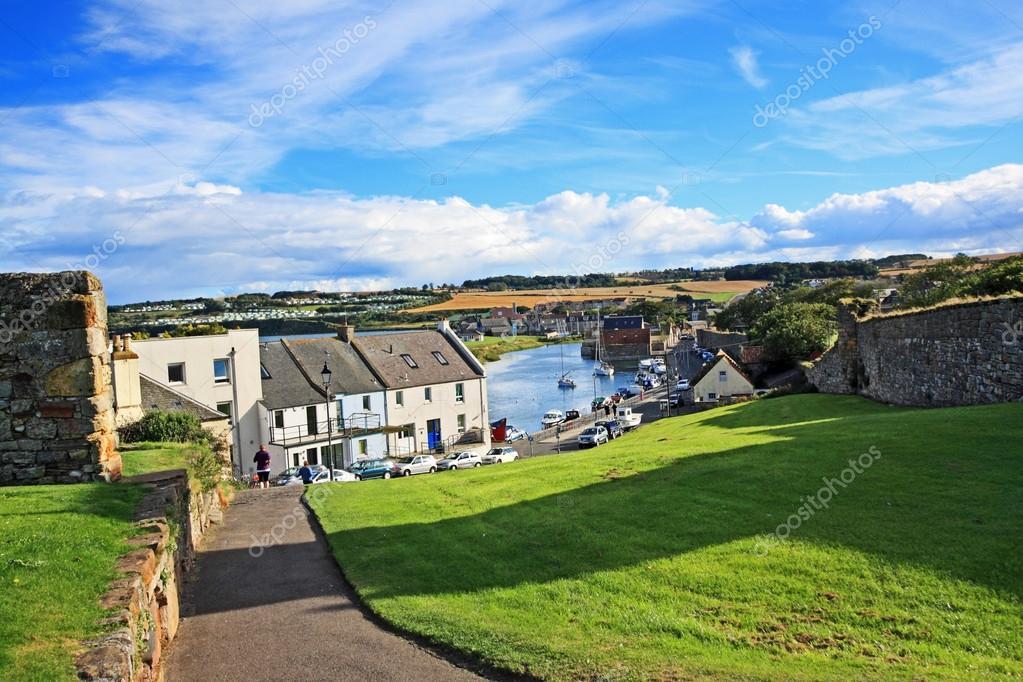 Panorama of St Andrews, Fife, Scotland