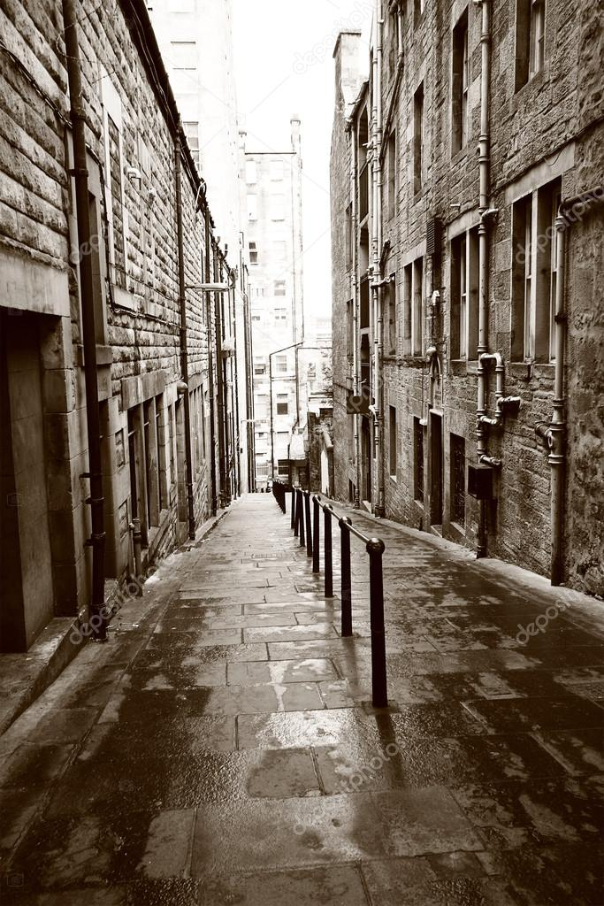 Old streets of Edinburgh