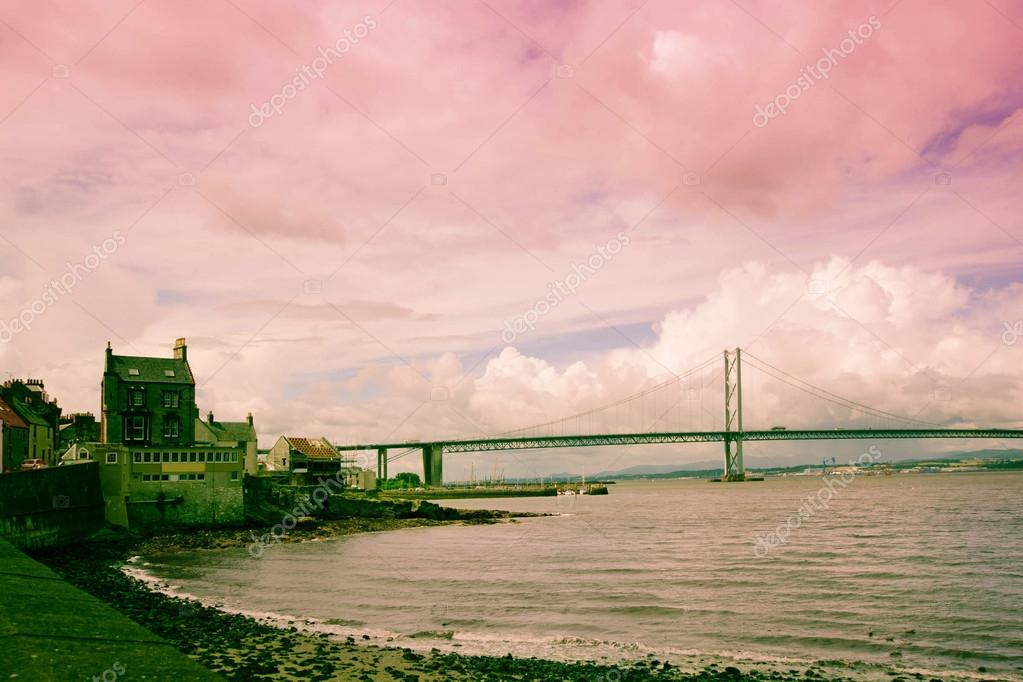 The Forth Road Bridge, Queensferry, Scotland