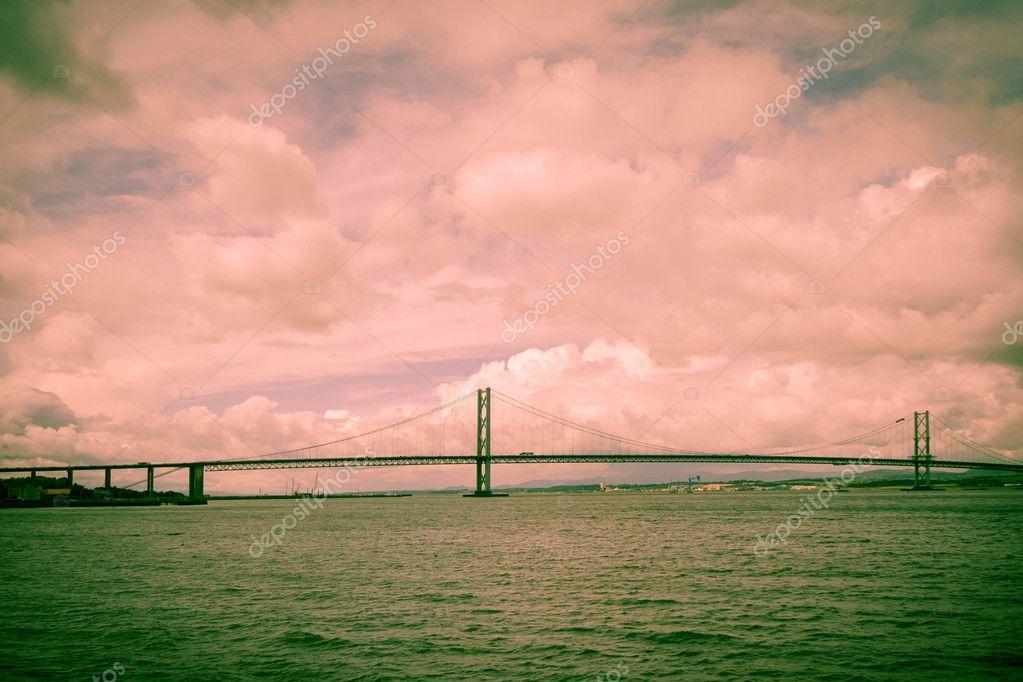 The Forth Road Bridge, Queensferry, Scotland