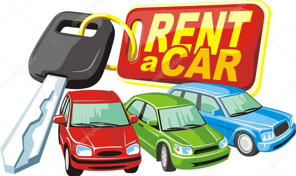 Car rent — Stock Vector © kokandr #15251551