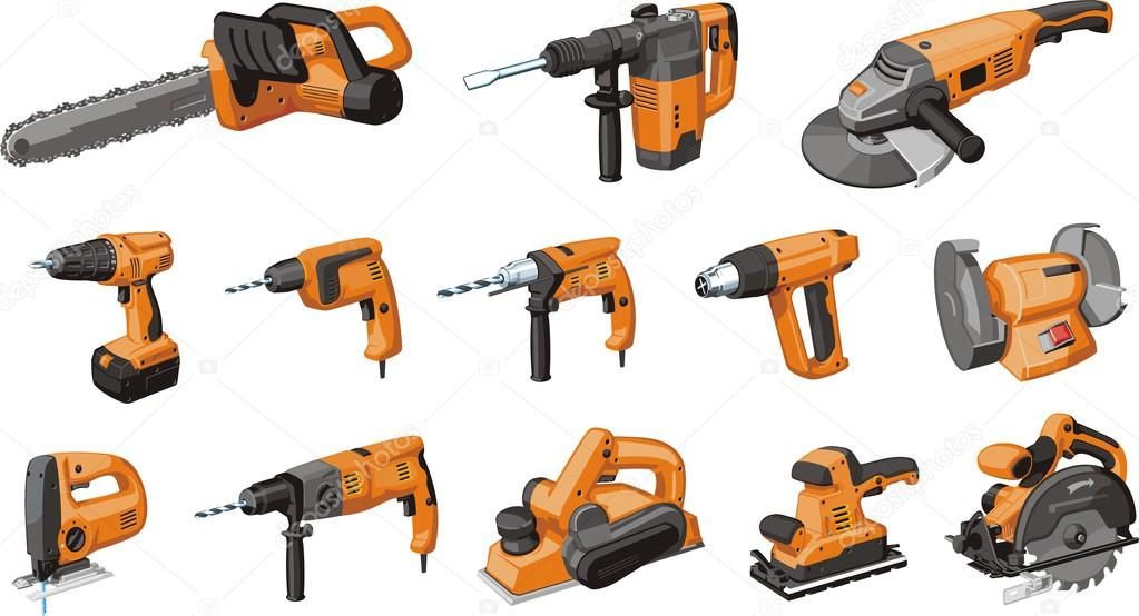 Set of electric tool