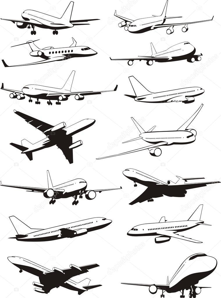 фото самолета с самолета