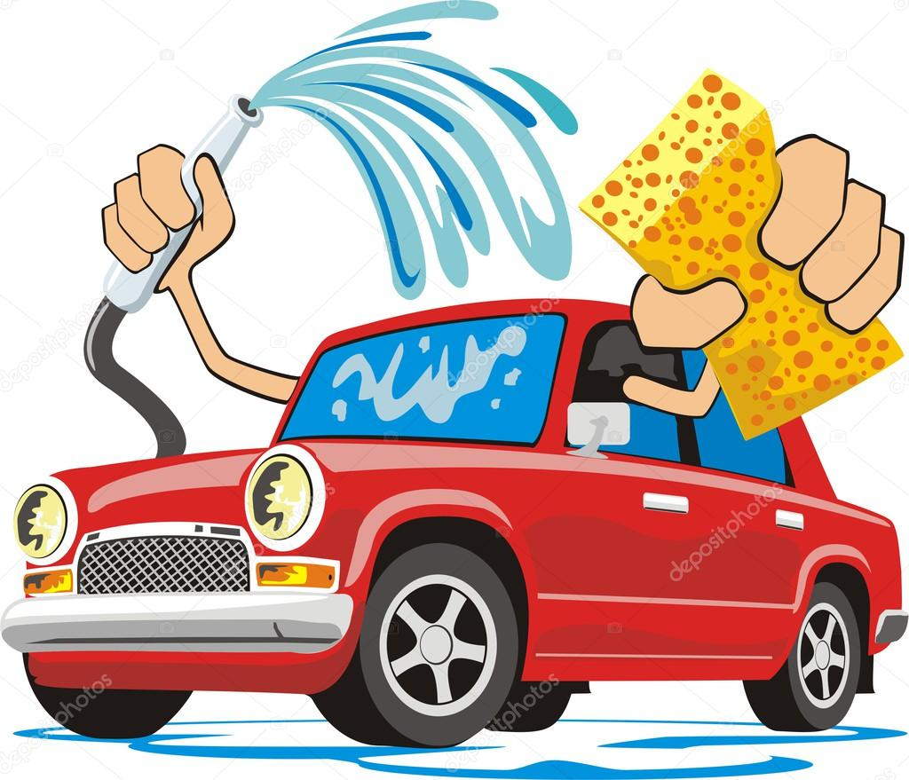 Car wash stock vector kokandr 38245395 for Clean car pictures