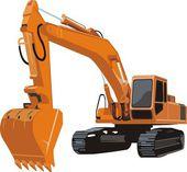 Fotografie consruction excavator
