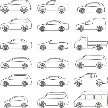 Set of circuits  of vehicles
