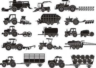 Agricultural machine  set