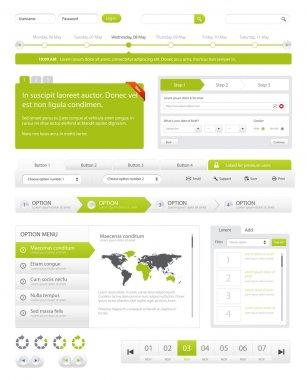 Website navigation Pack