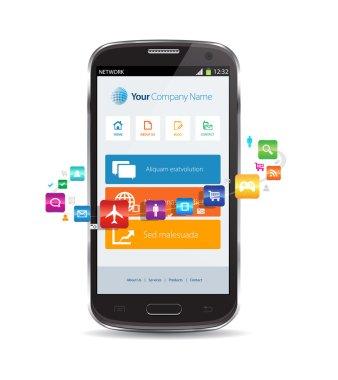 Internet Cloud Smartphone Apps