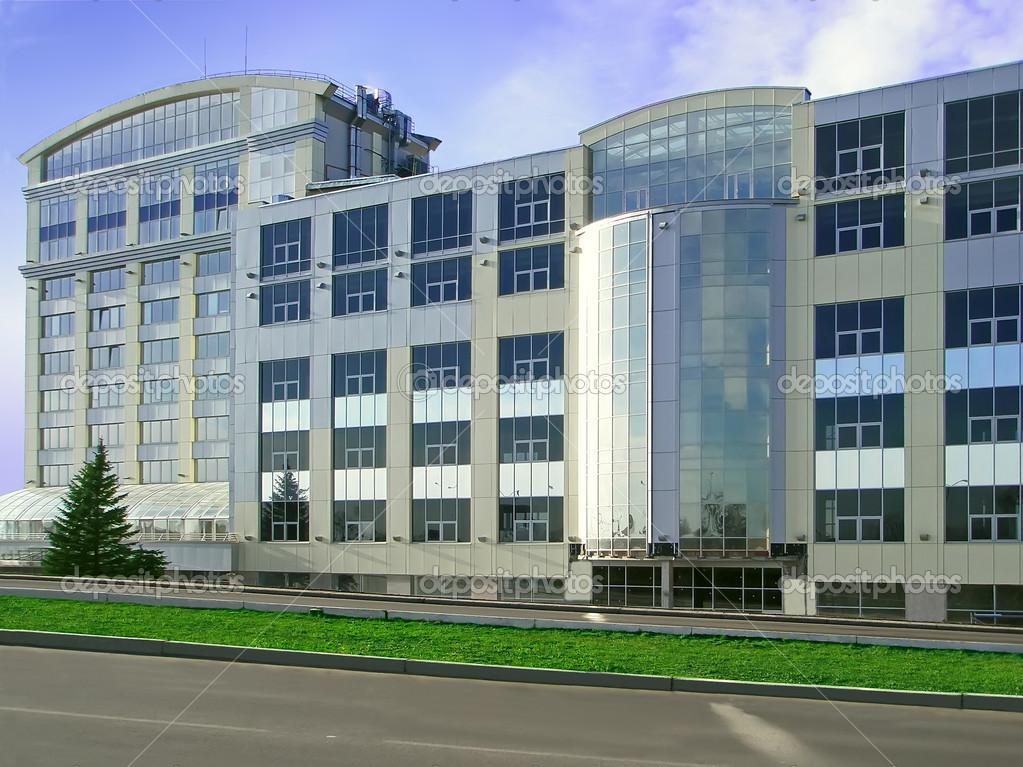 Immeuble de bureaux moderne u photographie markit