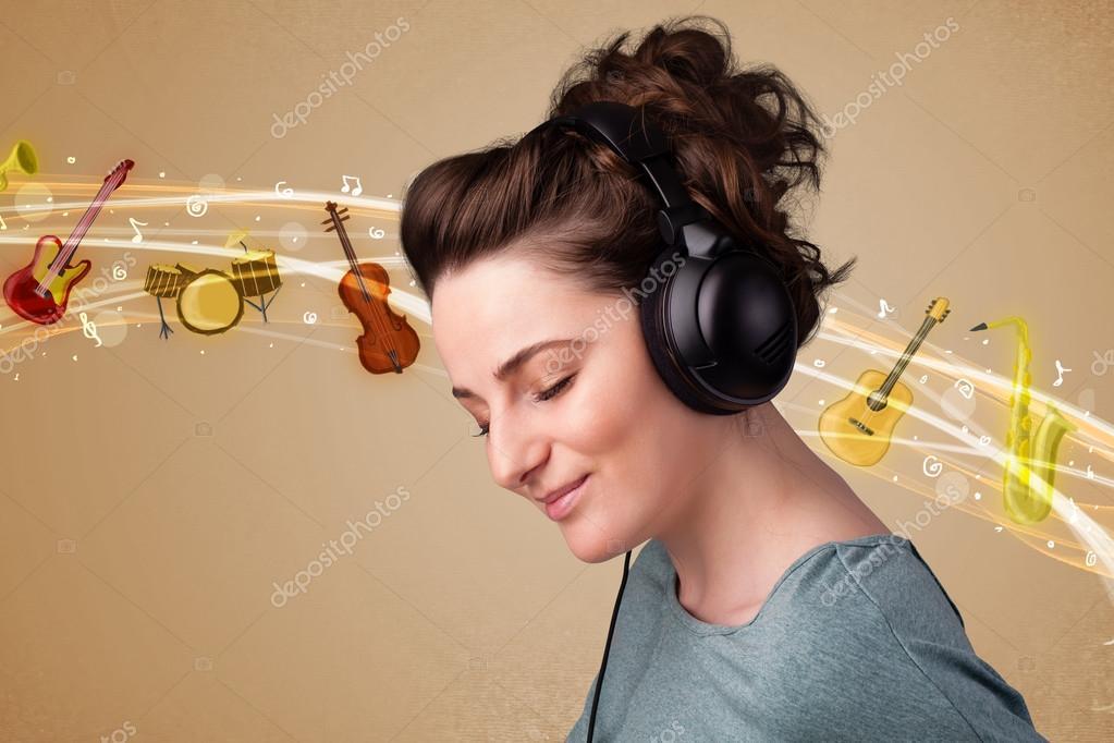 влияет человека музыка картинки на