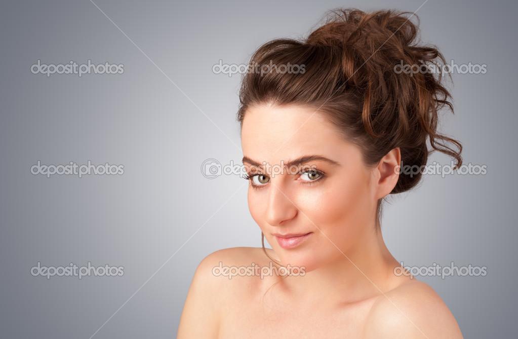 ung naken flicka