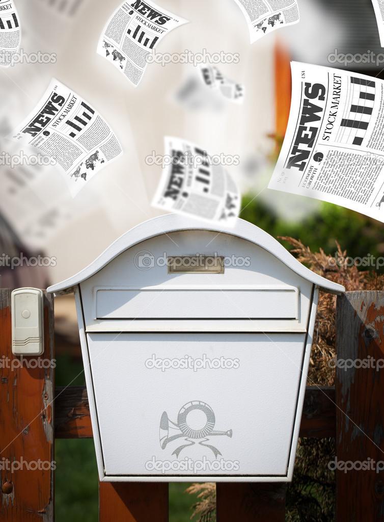 Obrázky každodenní pošty