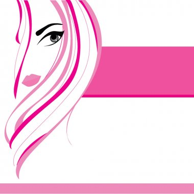 pink girl background