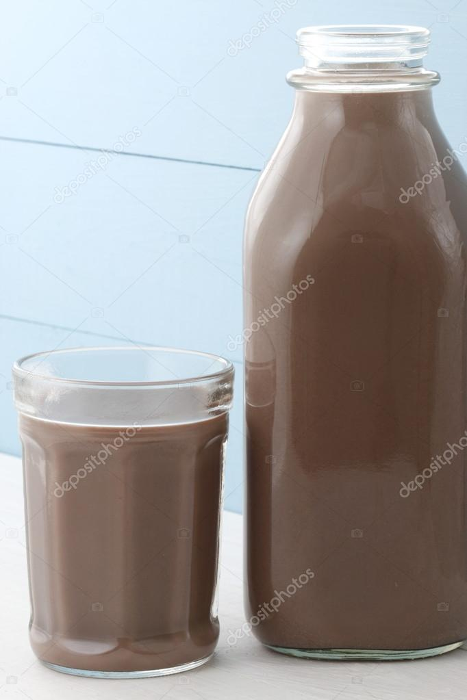 chocolate milk bottle