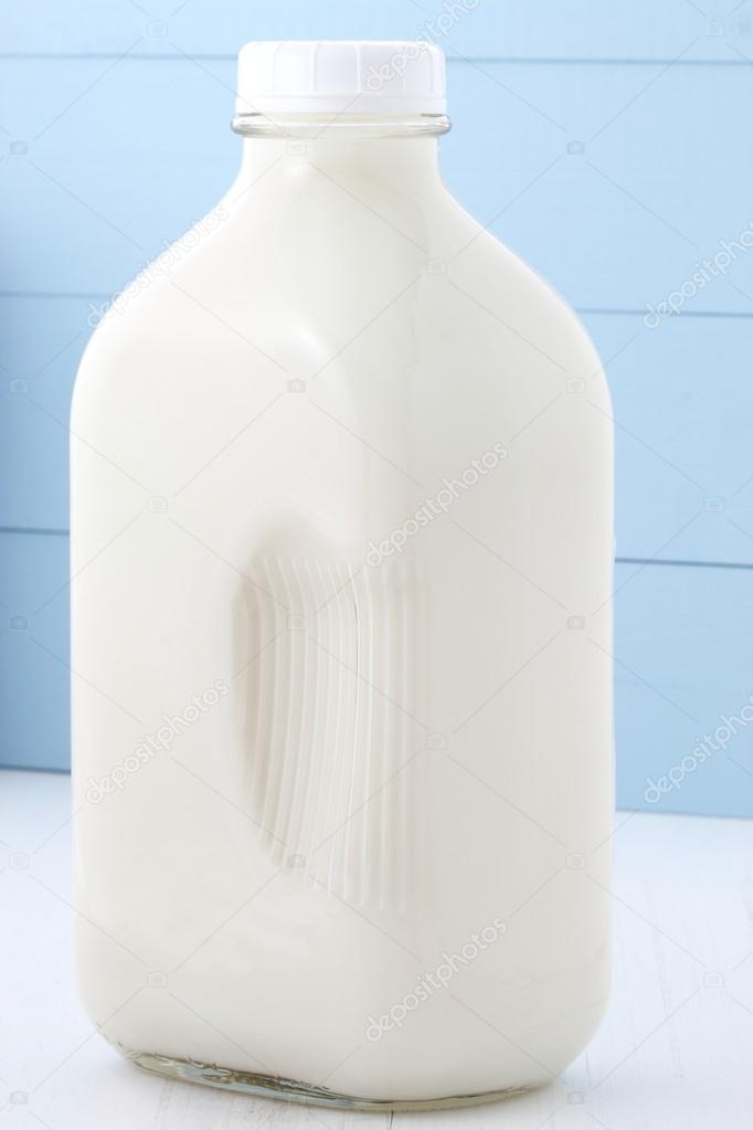 half gallon milk bottle