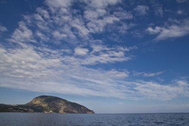 Ayu Dag mountain in the daylight. Crimea. Ukraine