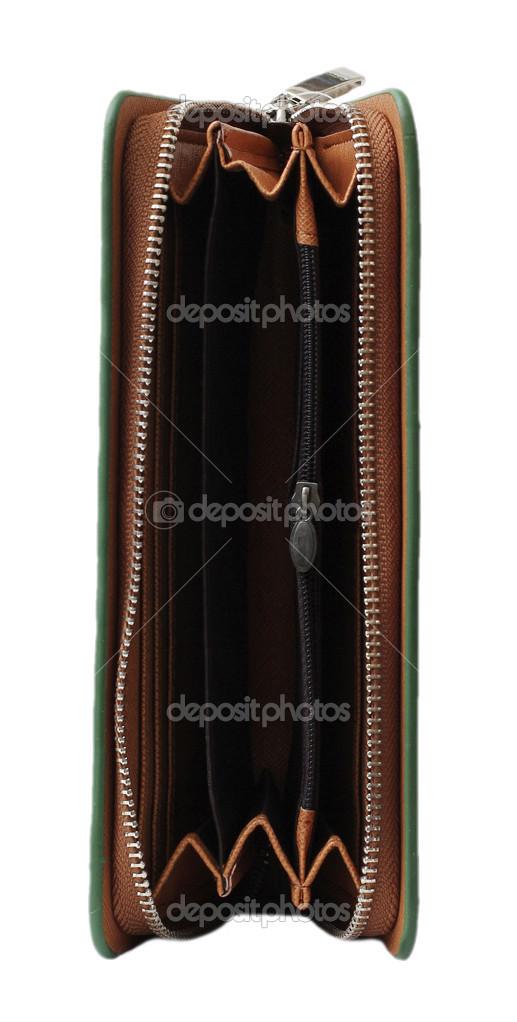 Groene Portemonnee.Lege Groene Portemonnee Stockfoto C Bioboy 41923183